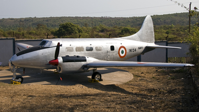 IN124 - De Havilland DH-104 Dove - India - Navy