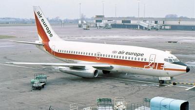 G-BMHG - Boeing 737-2S3(Adv) - Air Europe