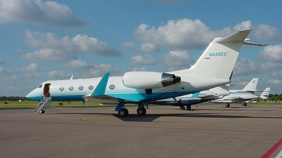 A picture of N420CC - Gulfstream IV - [1164] - © The Fokker Aircraft Page