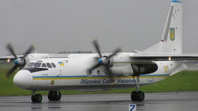 01 - Antonov An-24B - Ukraine - Air Force