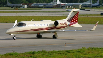 N100BL - Bombardier Learjet 31A - Private