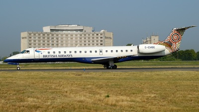 G-EMBG - Embraer ERJ-145EU - British Airways (CityFlyer Express)
