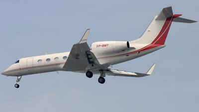 VP-BMY - Gulfstream G450 - Private