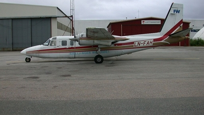 LN-FAH - Rockwell 690B Turbo Commander - Fjellanger Widerøe Aviation