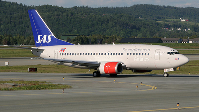 LN-BRX - Boeing 737-505 - SAS Norge