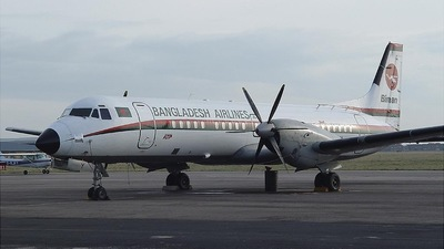 S2-ACY - British Aerospace ATP - Biman Bangladesh Airlines