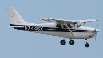A picture of N7445X - Cessna 172B Skyhawk - [17247945] - © DJR