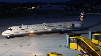 HZ-APF - McDonnell Douglas MD-90-30 - Saudi Arabian Airlines