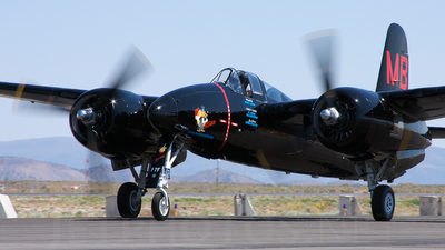 NX805MB - Grumman F7F-3 Tigercat - Private