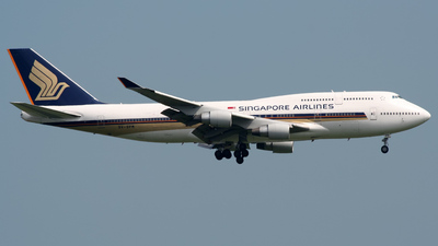 9V-SPM - Boeing 747-412 - Singapore Airlines