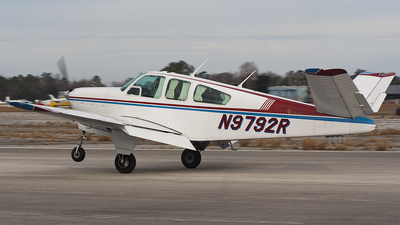 N9792R - Beechcraft M35 Bonanza - Private