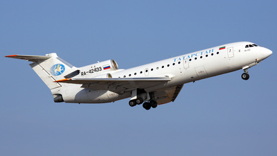A picture of RA42433 - Yakovlev Yak42 - Tatarstan Air - © Alexey Matevosyan