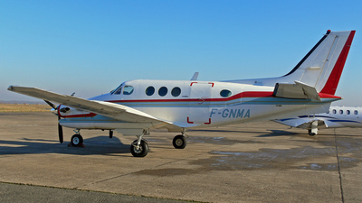 F-GNMA - Beechcraft C90A King Air - Oyonnair