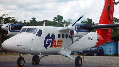 PK-LTY - De Havilland Canada DHC-6-300 Twin Otter - GT Air