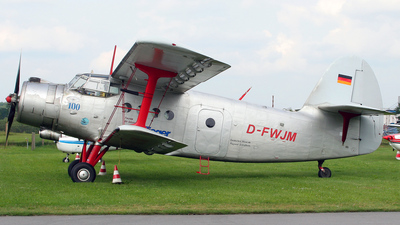 D-FWJM - PZL-Mielec An-2 - Private