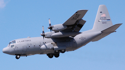 91-9143 - Lockheed C-130H Hercules - United States - US Air Force (USAF)