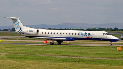 G-EMBL - Embraer ERJ-145EU - Flybe