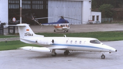 Z3-BAA - Gates Learjet 25B - Macedonia - Government
