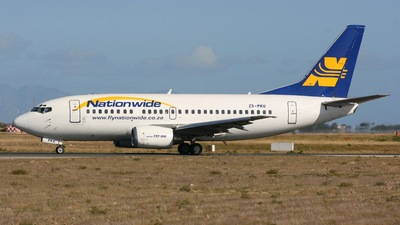 ZS-PKU - Boeing 737-529 - Nationwide Airlines
