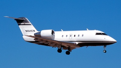 N664CW - Bombardier CL-600-2A12 Challenger 601 - Private