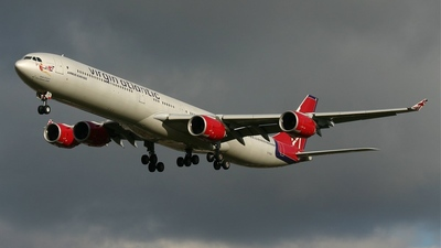 G-VSSH - Airbus A340-642 - Virgin Atlantic Airways