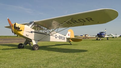 G-BROR - Piper J-3C-65 Cub - Private