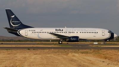 EI-DGM - Boeing 737-4C9 - Blu-express