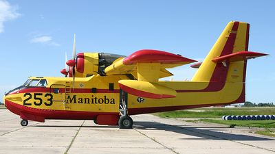 C-GBOW - Canadair CL-215 - Canada - Government of Manitoba