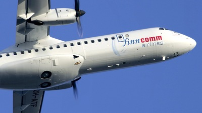 OH-ATF - ATR 72-212A(500) - Finncomm Airlines