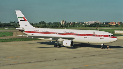 A6-PFD - Airbus A300C4-620 - United Arab Emirates - Abu Dhabi Amiri Flight