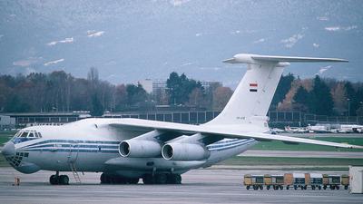 YK-ATB - Ilyushin IL-76T - Syrianair - Syrian Arab Airlines