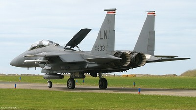 91-0603 - McDonnell Douglas F-15E Strike Eagle - United States - US Air Force (USAF)
