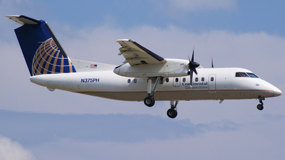 N375PH - Bombardier Dash 8-Q202 - Continental Connection (Commutair)