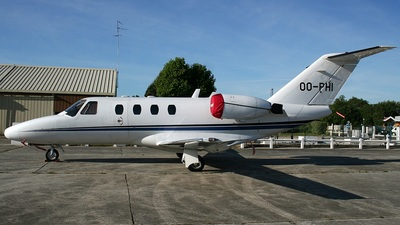 OO-PHI - Cessna 525 CitationJet 1 - Flying Service