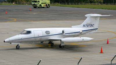 N707SC - Gates Learjet 24 - Private
