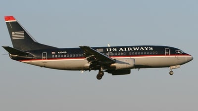 N374US - Boeing 737-3B7 - US Airways