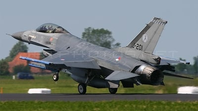 J-201 - General Dynamics F-16AM Fighting Falcon - Netherlands - Royal Air Force