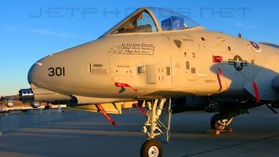 75-0301 - Fairchild A-10A Thunderbolt II - United States - US Air Force (USAF)