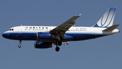 N804UA - Airbus A319-131 - United Airlines