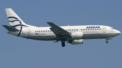 SX-BTO - Boeing 737-33A - Aegean Airlines