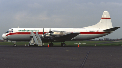 N343HA - Lockheed L-188A(F) Electra - Channel Express