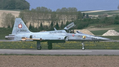 J-3093 - Northrop F-5E Tiger II - Switzerland - Air Force