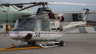 02 - Bell 412SP - Poland - Air Force