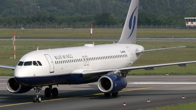 D-ANNC - Airbus A320-232 - Blue Wings