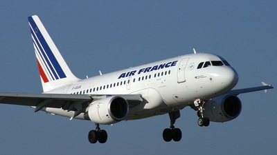 F-GUGA - Airbus A318-111 - Air France
