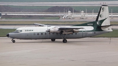 N4220 - Fairchild-Hiller FH-227 - Ozark Air Lines
