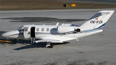 OE-FOI - Cessna 525 CitationJet 1 - Fly Tyrol