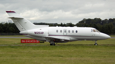 N125XP - Raytheon Hawker 800XP - Private