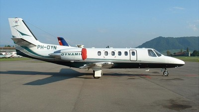 PH-DYN - Cessna 550B Citation Bravo - Dynamic Air