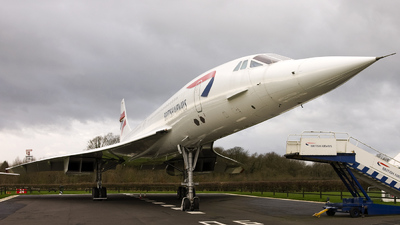 G-BOAC - Aérospatiale/British Aircraft Corporation Concorde - British Airways